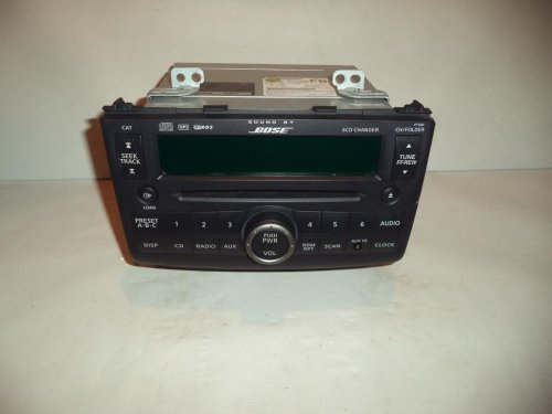 small resolution of get quotations 08 09 nissan rogue bose radio cd player mp3 6 disc changer 2008 2009