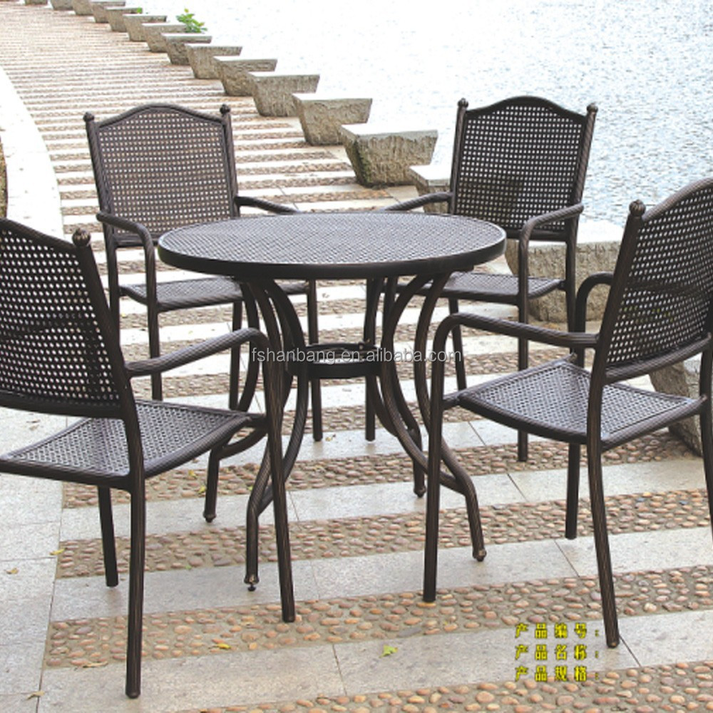 Outdoor Table And Chair Set Cheap Coffee Shop Cast Iron Outdoor Table And Chair Buy Wrought Iron Table And Chair Set Modern Furniture Coffee Shop Tables And Chairs Table And