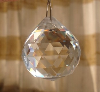 K9 Clear Crystal Chandelier With Hooks For Hanging Prism Ball