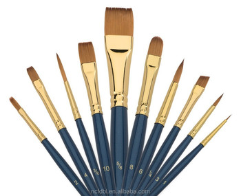 kolinsky sable paint brushes