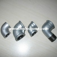 Din Electric Galvanized Cast Iron Pipe Fittings Elbow