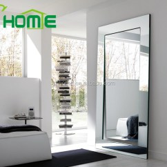 Full Size Mirror In Living Room Ideas For Black Leather Couches Standing Silver Length Dressing Wholesale Floor Mirrors