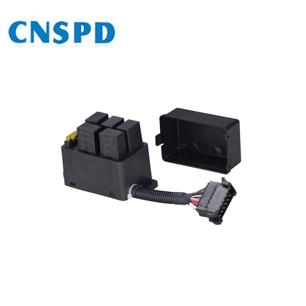 medium resolution of 12v 24v universal automotive car auto fuse and relay box