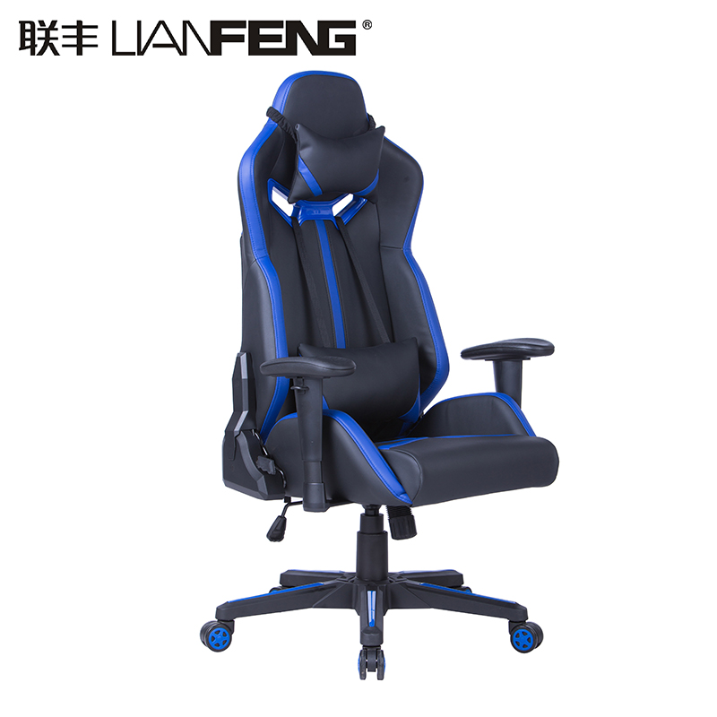 adult gaming chair hanging nepal high back pc racing style computer ergonomic with adjustable headrest