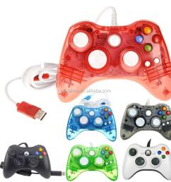 4 colors afterglow usb wired controller for microsoft xbox 360 xbox360 led light controller gamepad [ 1000 x 1000 Pixel ]