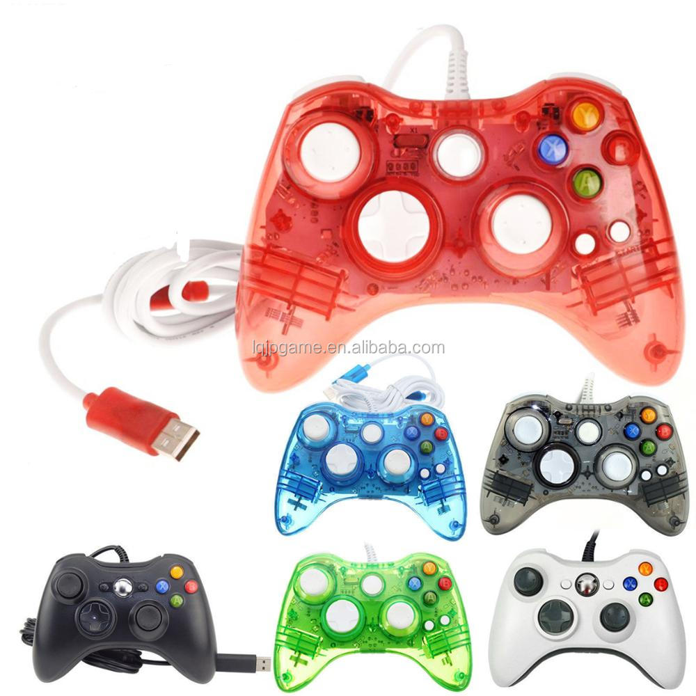medium resolution of 4 colors afterglow usb wired controller for microsoft xbox 360 xbox360 led light controller gamepad