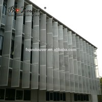 Exterior Perforated Metal Aluminum Panel For Building ...