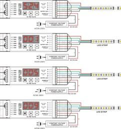 dc12v dc24v 4 channels dmx512 rgbw controller 4ch dmx decoder 2 wiring diagram  [ 1148 x 825 Pixel ]