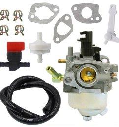 get quotations nimtek 120 4418 carburetor with fuel shut off valve fuel filter line toro 621r 621e [ 1001 x 1001 Pixel ]