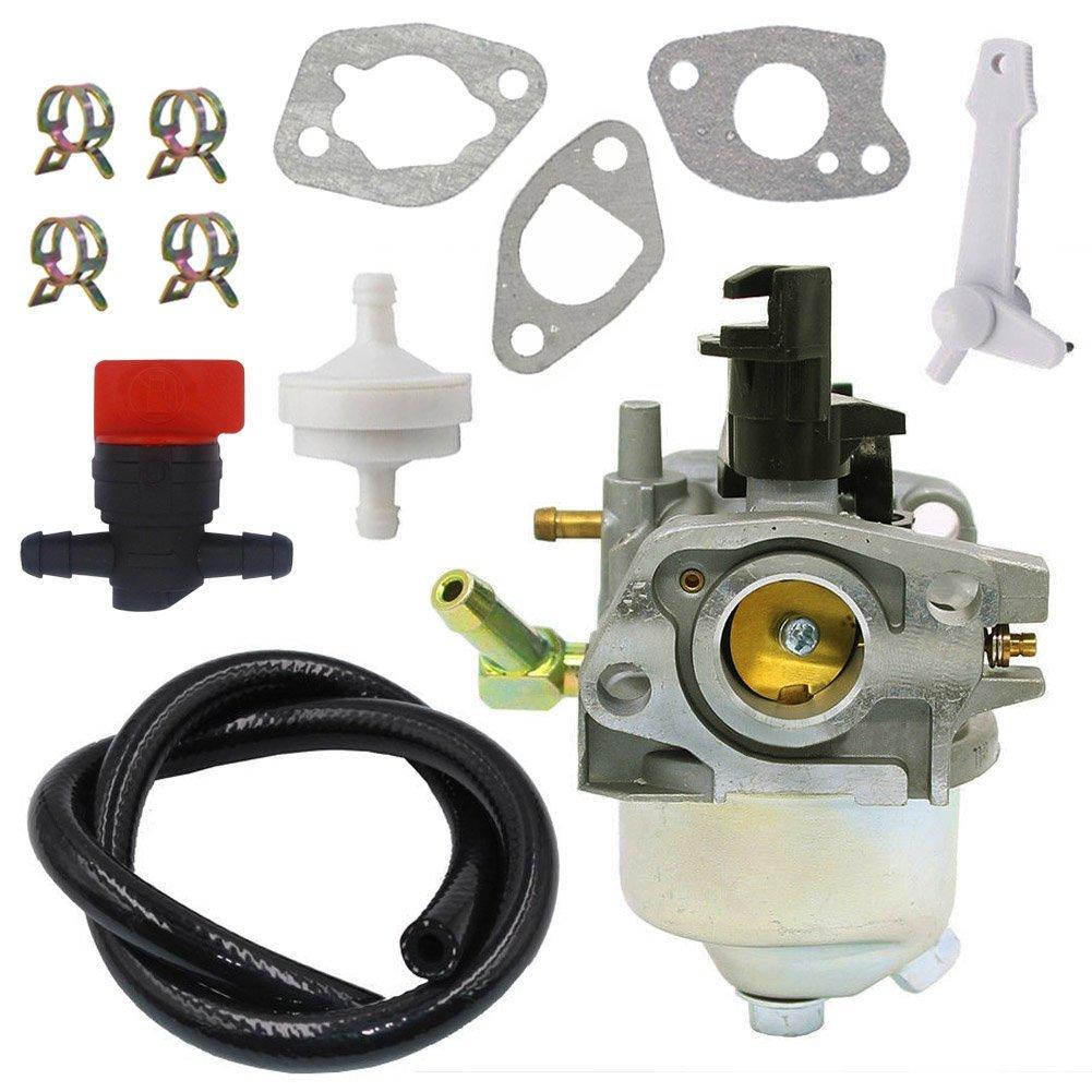hight resolution of get quotations nimtek 120 4418 carburetor with fuel shut off valve fuel filter line toro 621r 621e