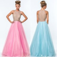 Colorful Puffy Prom Dresses 2015_Prom Dresses_dressesss