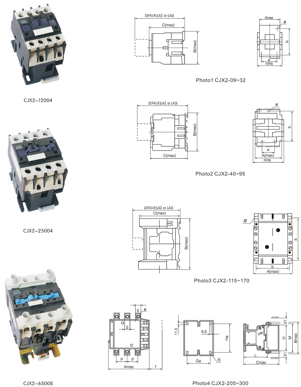 Lc1-d95008 Lc1-d80008 Lc1-d65008 Lc1-d50008 Lc1-d32008 Lc1