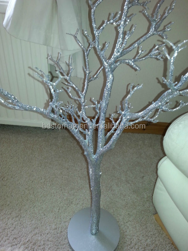 Silver And Gold Manzanita Trees Wedding Wishing Trees