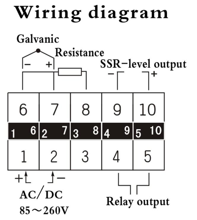 pid digital temperature controller wiring diagram wiring diagram micc xmtg 808 digital pid temperature controller pid control schematic