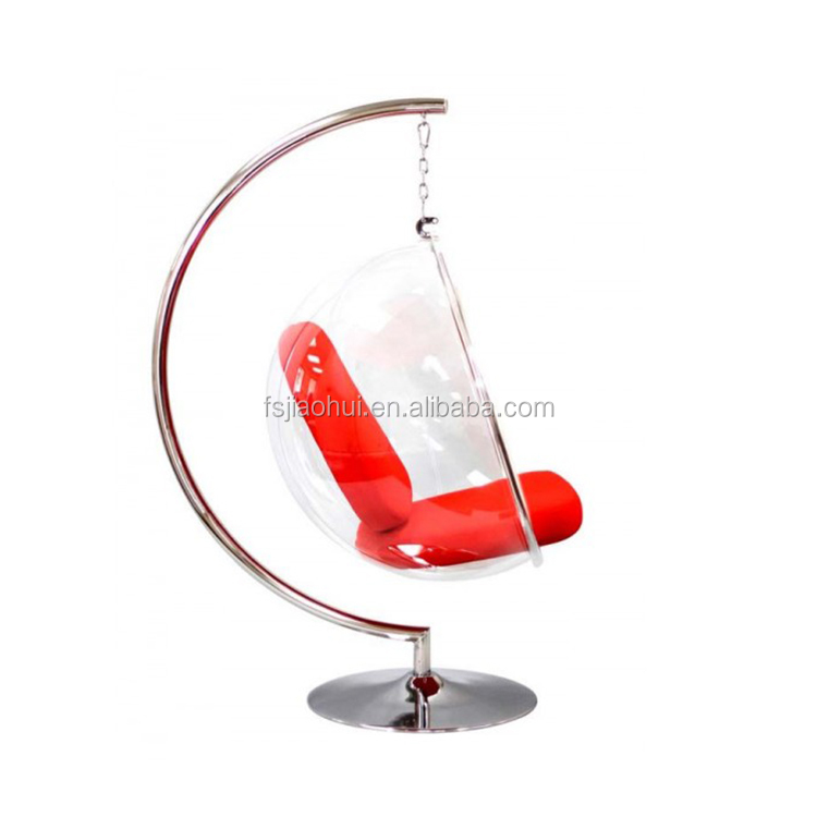 fine mod imports arne jacobsen style egg hanging chair eero aarnio standing hanging bubble chair