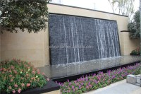 Vertical Wall Water Fountain Large Artificial Waterfall ...