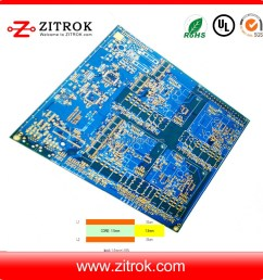 rigid printed circuit board for home theater hoverboard pcb buy [ 1000 x 1000 Pixel ]