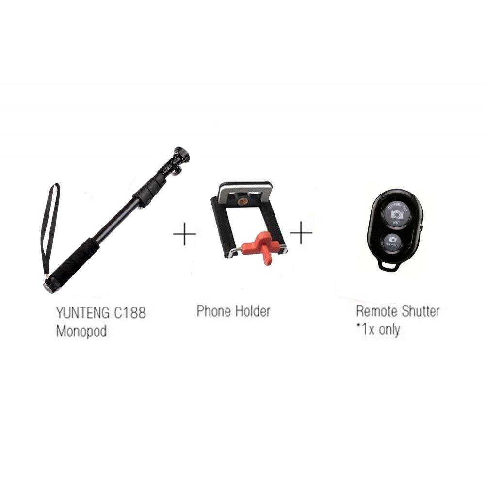 Buy Kootek Wireless Bluetooth Monopod with Remote Shutter