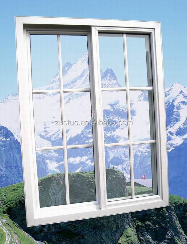 Upvc Cheap House Windows For Sale / Pvc Sliding Window
