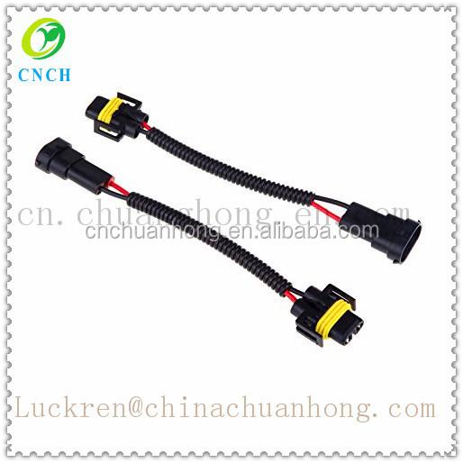 2 stücke H8 H9 H11 Kabelbaum Sockel Auto Draht-anschluss