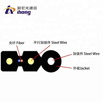 Fiber Optic Self-supporting Bow-type Drop Cable Gjyxfch
