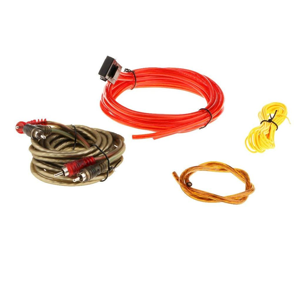 medium resolution of homyl great performance car audio subwoofer sub amplifier amp rca wiring kit 126