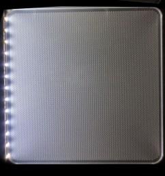 clear acrylic lgp led light guide panel [ 1000 x 1000 Pixel ]