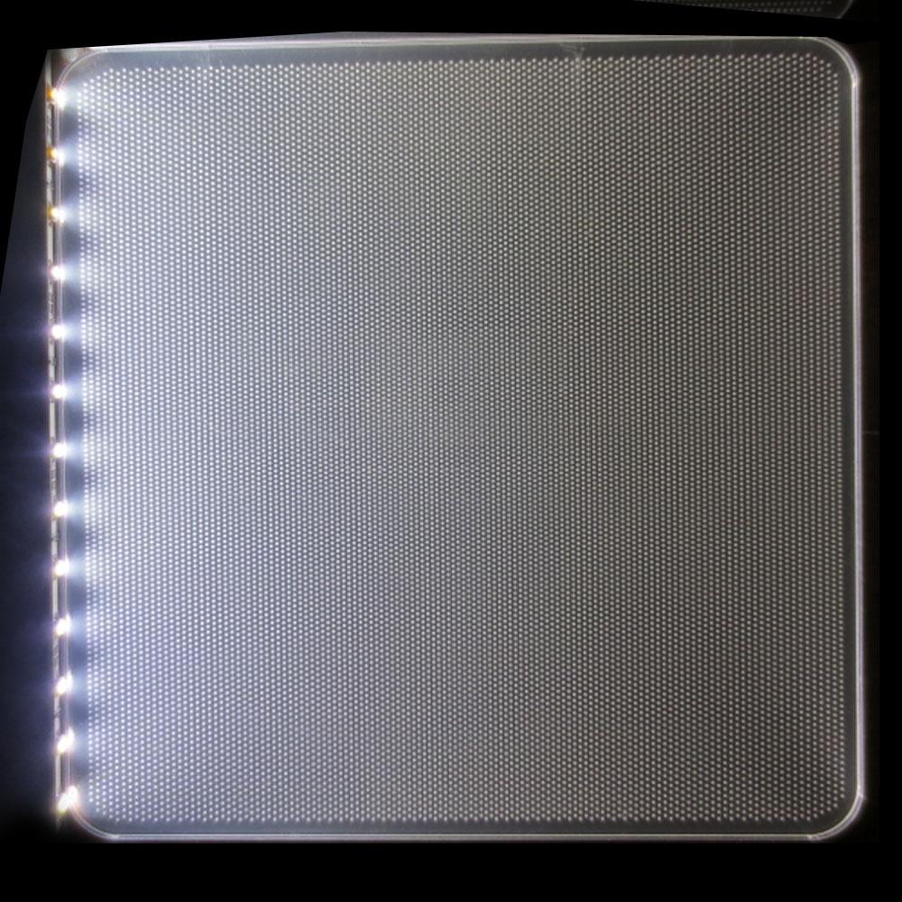 medium resolution of clear acrylic lgp led light guide panel