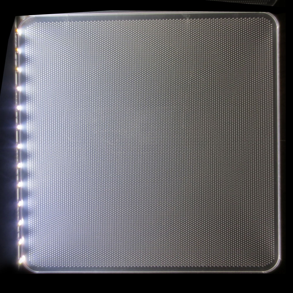 hight resolution of clear acrylic lgp led light guide panel