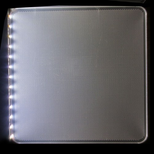 small resolution of clear acrylic lgp led light guide panel