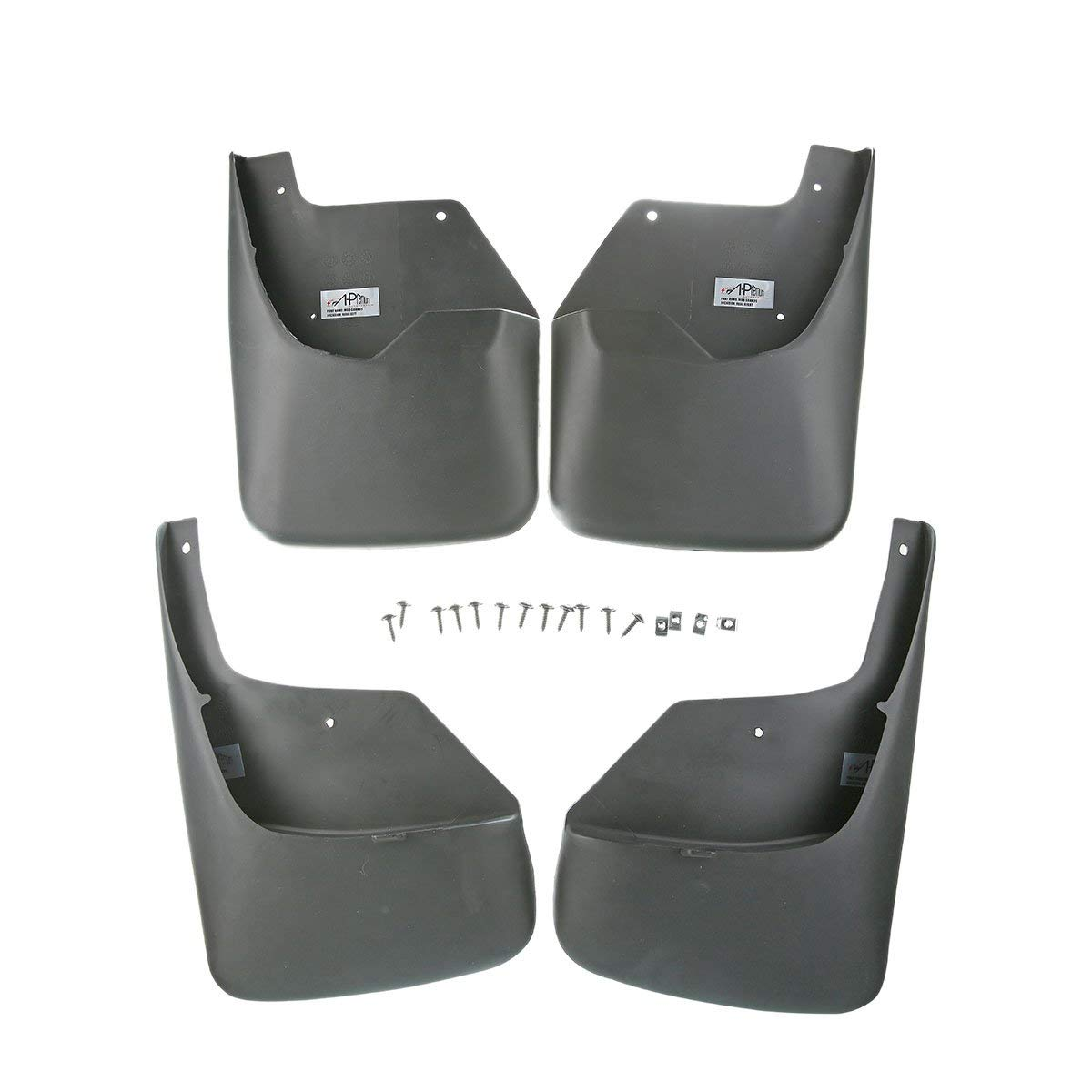 hight resolution of a premium splash guards mud flaps for chevrolet trailblazer 2002 2009 ssr 2003