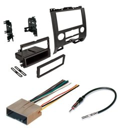 mazda 2008 2011 car radio stereo radio kit dash installation mounting w wiring harness [ 1000 x 1000 Pixel ]
