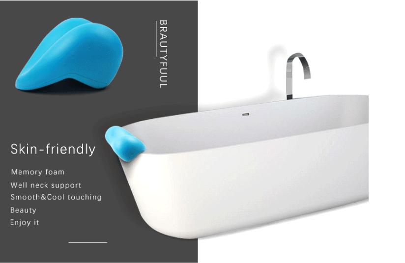 home use pu foam waterproof bathtub heart shaped bath tub neck pillow buy pu foam waterproof heart shaped neck pillow product on alibaba com