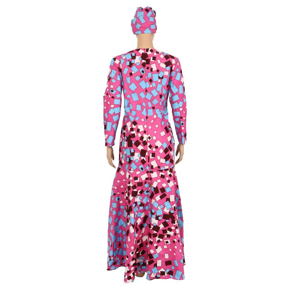 ⑤Ropa Africana mujeres manga larga vestido de noche sexy vestido de ...