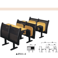 Hot Sale Adult School Classroom Desk University Chair Zn11 ...