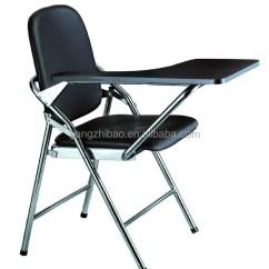 Folding Chair Desk Outdoor With Ottoman Underneath Foshan Tablet Study Student Ah 007 Buy