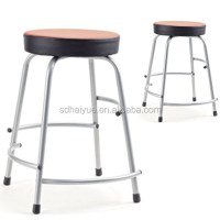 High Quality Colorful School Chair Stool /round Seat Study ...