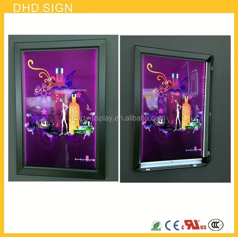 wall mounted poster frame led picture frames led backlit panel frame slim light box buy wall mounted light box led panel frame led slim light box