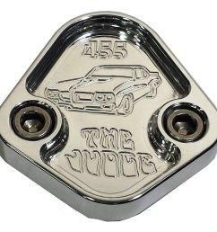 get quotations jacer enterprises f029 ps31n fuel pump block off plate 455 gto cheap pontiac fuel filter find  [ 1281 x 1185 Pixel ]