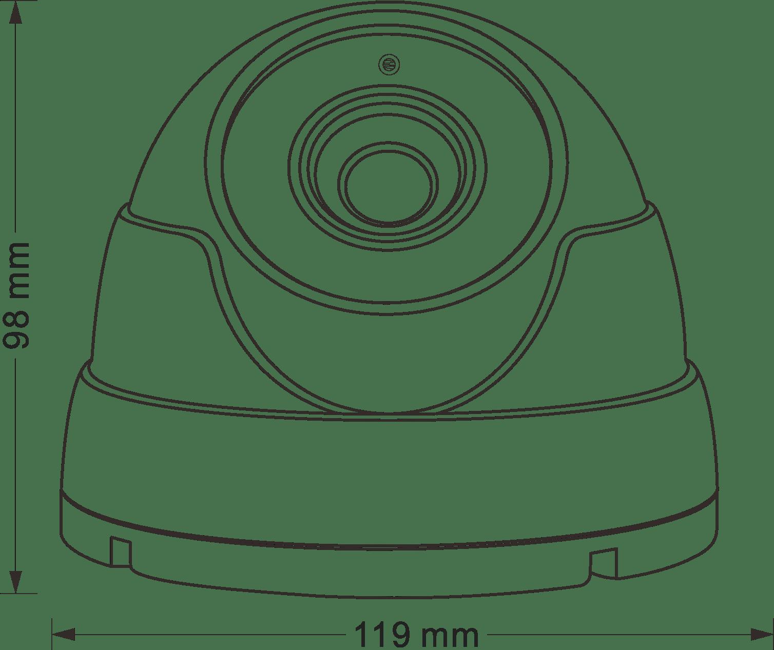 5mp Ip Starvis Telecamera Ip Poe Motorizzata Dome Poe Ir