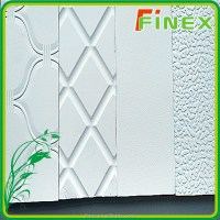 Plastic Textured Wall Panel Board