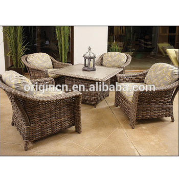 wicker sofa uk dining table against back of style elegant terrace furniture set with square and armchair rattan outdoor bar
