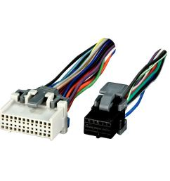get quotations wiring harness for car radio gm reverse wiring 2000 up vehicles plugs into oem radio [ 1000 x 1000 Pixel ]