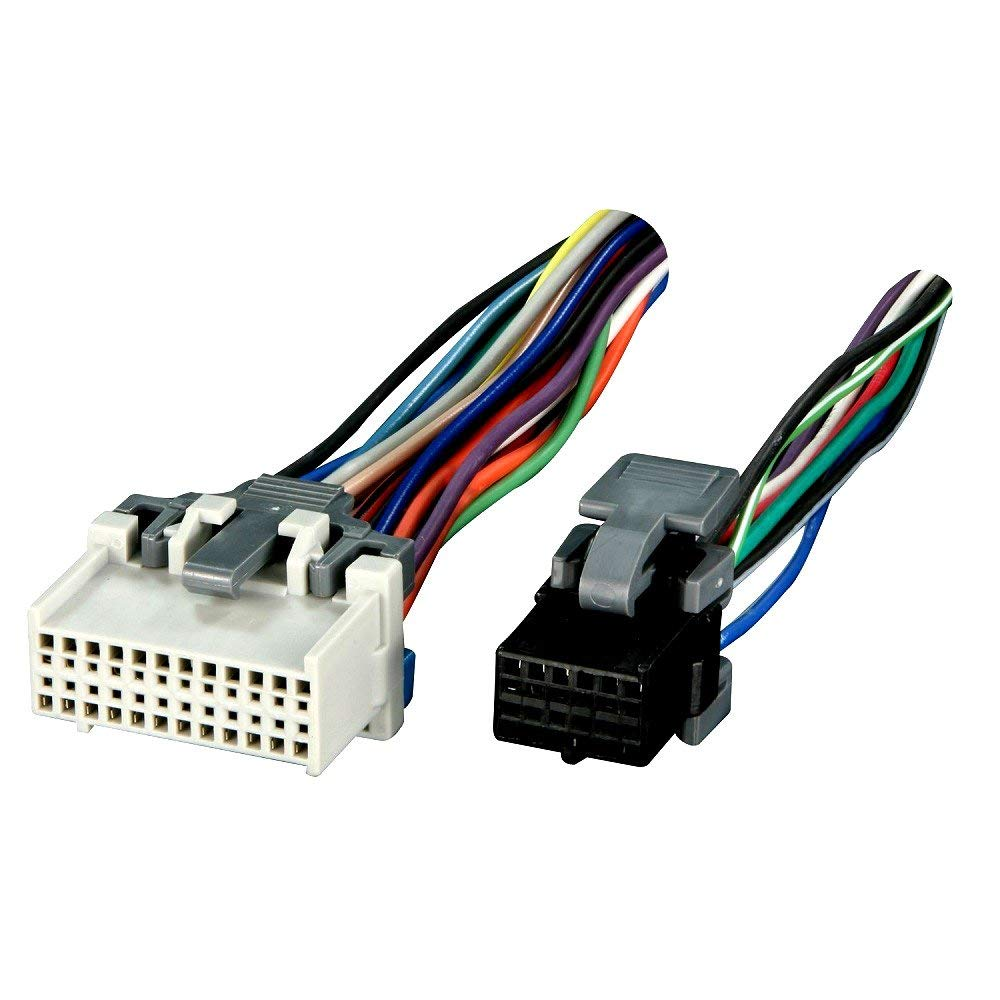 medium resolution of get quotations wiring harness for car radio gm reverse wiring 2000 up vehicles plugs into oem radio