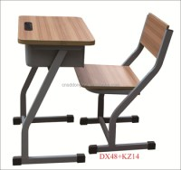 Modern Classroom Wooden Chair And Desk Dx48+kz14 - Buy ...