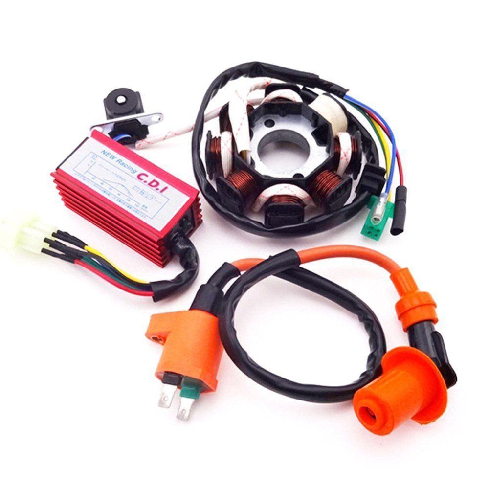 medium resolution of tc motor magneto stator ignition coil 6 pins ac cdi box for chinese