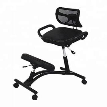 office chair posture buy easy comfort lc 200 lift kneeling leather fabric ergonomic design folding
