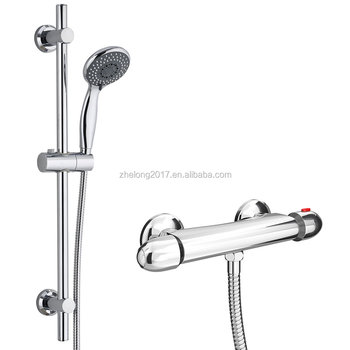 Thermostatic Wall Mounted Bath Shower Mixer Valve Tap