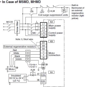 Panasonic Servo Motor Wiring Diagram  Somurich
