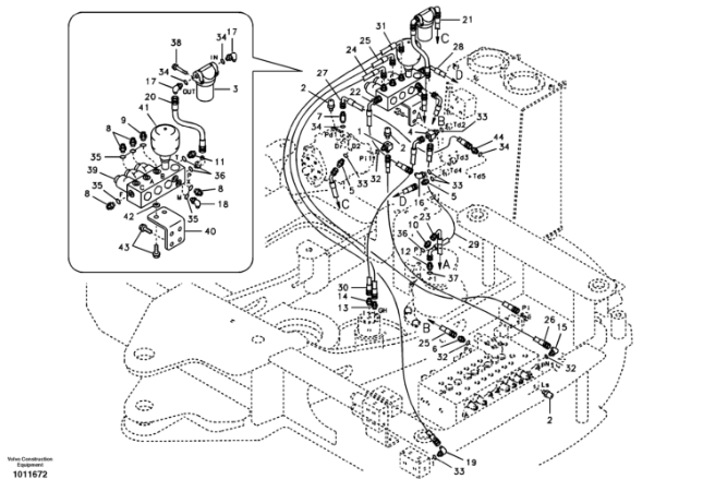 Volvo ecr88 parts